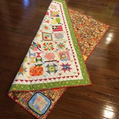I have posted several times back in the summer and fall about working on my Farm Girl Vintage Sew-A-Long blocks.       I had them all compl...