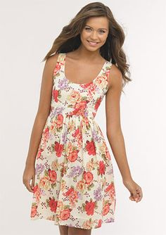 I really like this dress, found it on DELIAS.com... would like it to be a little longer, hmmm... could I make it?!?