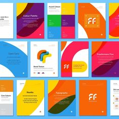 """276 Likes, 21 Comments - Kyle Miller Creative (@kylemillercreative) on Instagram: """"I've been helping Freeformers put together their 2017 Brand Guide. Here's a look into the booklet.…"""""""