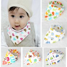 Baby  Cotton  Bibs High quality Triangl Double Layers Cartoon Character Animal Print Baby Bandana Bibs BK005♦️ SMS - F A S H I O N  http://www.sms.hr/products/baby-cotton-bibs-high-quality-triangl-double-layers-cartoon-character-animal-print-baby-bandana-bibs-bk005/ US $1.29
