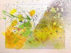 Watercolor Splatter Texture Tutorial � 2009 Gregory Conley