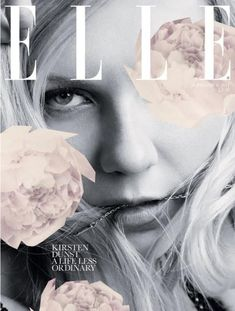 Kirsten Dunst for Elle Issue Sep/2011   Magazine Cover