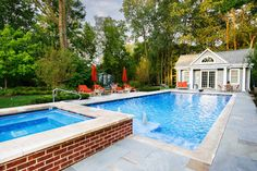 Highland Park, IL Updated Traditional Swimming Pool and Spa