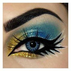 Eye makeup   ❤ liked on Polyvore