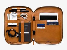 This is Ground Mod Tablet 3 Leather Carrying Case