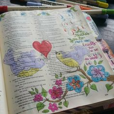 For God is good all the time  #illustratedfaith #biblejournaling #journalingbible #faith #Godisgood #iamblessed #bibleart #moyas100daystojesus