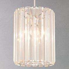 Buy John Lewis & Partners Frieda Easy-to-Fit Crystal Ceiling Shade from our Ceiling Lighting range at John Lewis & Partners. Free Delivery on orders over Ceiling Lamp Shades, Flush Ceiling Lights, Ceiling Lighting, Copper Pendant Lights, Pendant Lighting, Dresser Remodel, Hall Lighting, Lighting Ideas, Sparkling Lights