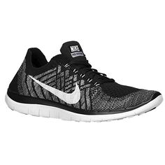 Nike Flyknit Black/Wolf Grey size 6