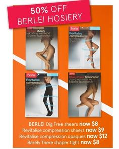 #Berlei #hoisery is all #halfprice at #Myer during their stocktake #sale. #onsale until 2.7.17