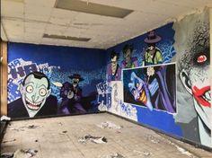 #Batman #Graffiti Found in Belgium