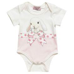 Baby Girls Cotton Bodysuit | Childrensalon