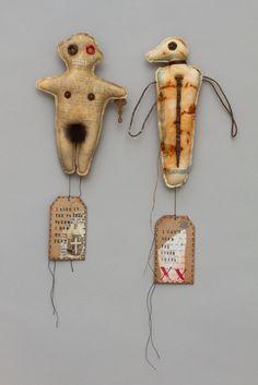 Fabric Figures by Mar Goman