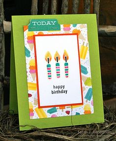 Simon Says Stamp August 2014 Card Kit...and a GIVEAWAY!