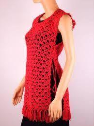 blusas tejidas a crochet caladas ile ilgili görsel sonucu