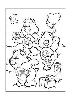 Disegni da colorare Gli orsetti del cuore 2