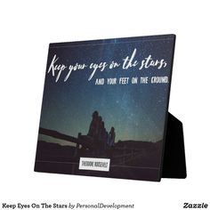 Shop Keep Eyes On The Stars Plaque created by PersonalDevelopment. Keep An Eye On, Home Gifts, Slogan, Typography, Inspirational Quotes, Eyes, Stars, Funny Humor, Inspire