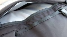 Arc'teryx Brize 32 Backpack - Closeup View of Front Zippered Pocket