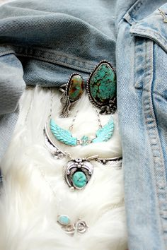 TURQUOISE&SILVER // PONY GOLD