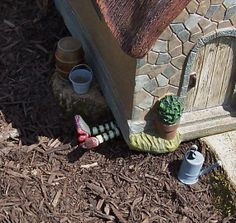 Wicked Witch Glow In The Dark OutDoor Decorations Fairy House Outdoor Garden Accessories