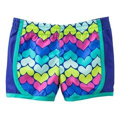 Jumping Beans Heart Colorblock Shorts - Toddler