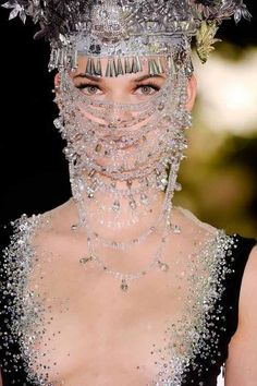 I never thought I would say this...but there is such a thing as too much bling. Mercy.