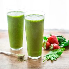 This Super Green Tea Antioxidant Smoothie gets its color from spinach and matcha green tea powder. It is loaded with protein, vitamins and antioxidants and comes in at only 200 calories. Matcha green tea powder is an ingredient I didn't know much about until I came across it in a few cookbooks friends had shared. …