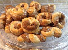 Greek Sweets, Greek Desserts, Greek Recipes, Pastry Recipes, Sweets Recipes, Cooking Recipes, Kai, Greek Cookies, Dinner Tonight