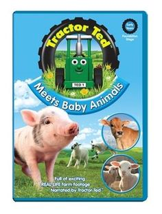 TCS - TRACTOR TED - Meets Baby Animals DVD http://www.tincknellcountrystore.co.uk/search.asp?search=tractor+ted&refpage=all