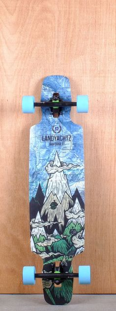 "Landyachtz 37"" Drop Carve Longboard Complete Bottom"
