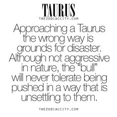 "zodiaccity: "" Zodiac Taurus Facts. For more information on the zodiac signs, click here. """
