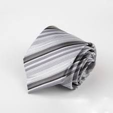 Image result for white silver necktie