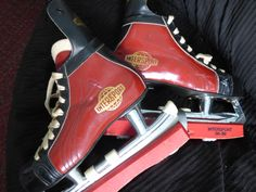 Intersport Vintage NHL Approved Skates  Size 39E by ChicAvantGarde