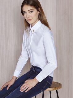 camisa blanca corte clásico coleccion javier simorra Pedralbes Centre  #working