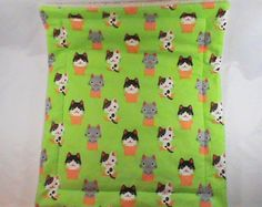 Sherpa Cat Blanket, catnip blanket, catnip toy, cat toy, plush blanket by CherylAnnsPets on Etsy