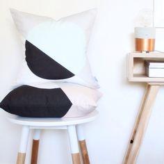 Scandi spot cushions