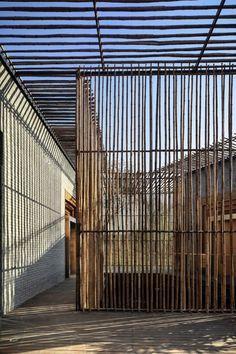 Fachadas Casa del Té de Bambú ShiQiao, Yangzhou, China Diseño/Proyecto: Harmony World Consulting & Design