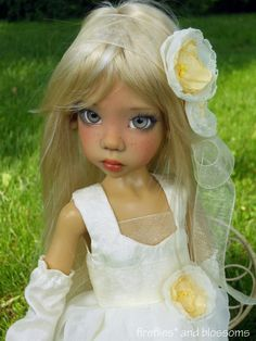 Sold Out/Limited Edition Charity Event Doll, Hope MSD BJD by Kaye Wiggs