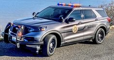 Brand new 2020 Ford Explorer Us Police Car, Police Truck, Ford Police, State Police, Police Officer, Cool Sports Cars, Cool Cars, Emergency Vehicles, Police Vehicles