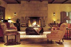 Warm colors and natural tones make it quite cozy