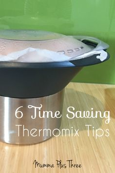 Thermomix Tips to help you save time and effort - Mumma Plus Three Easy Cooking, Cooking Recipes, Healthy Recipes, Bellini Recipe, New Kitchen Gadgets, Spice Mixes, Food Hacks, Helpful Hints, Favorite Recipes