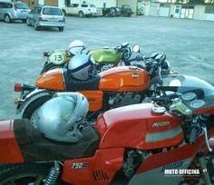 1977 MV Agusta 750 S America, 1974 Laverda 1000 3C, 1978 Moto Guzzi Café Racer