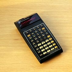 TI-58 programmable calculator with solid state software