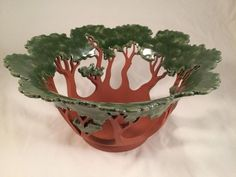 Image result for madrone tree fused glass | Fused Glass Bowls ...