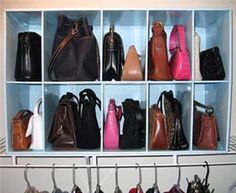 Passion for handbags: How to store handbags