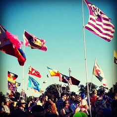 @ ACL Fest 2014 - So many countries