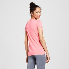 Women's Tech T-Shirt - C9 Champion - Neon Flare Heather XS