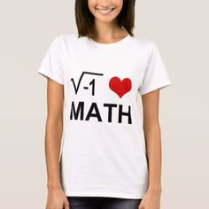 Shop Love L. [valentines day or not] T-Shirt created by Mi_WabiSabi. Personalize it with photos & text or purchase as is! I Love Math, Science Geek, Wardrobe Staples, Fitness Models, Shop My, Valentines, T Shirts For Women, My Love, Day