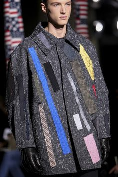 While looking tv tonight I saw an interesting broadcast about how fashion designer Raf Simons was inspired by the work of the artist Ster...