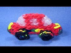 Rainbow Loom Charms: CAR: How to Design / Tutorial (DIY Mommy)