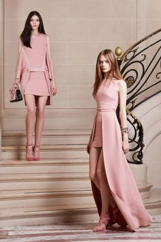 Elie Saab | Pre-Fall 2014 Collection | Look 112014 fashion trends Elie Saab pink dress